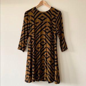 Swingy Mini Dress, Size 4